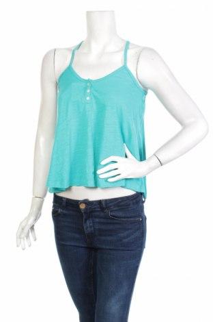 Γυναικείο αμάνικο μπλουζάκι G 21, Μέγεθος M, Χρώμα Μπλέ, 60% βαμβάκι, 40% πολυεστέρας, Τιμή 2,48€