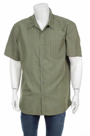 Pánska košeľa , Veľkosť XL, Farba Zelená, 66% viskóza, 34% polyester, Cena  2,25€