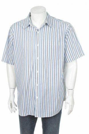 Pánska košeľa  Basic Edition, Veľkosť XL, Farba Modrá, 55% bavlna, 45% polyester, Cena  2,25€