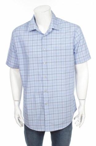 Pánska košeľa  Van Heusen, Veľkosť L, Farba Modrá, 60% bavlna, 40% polyester, Cena  2,25€