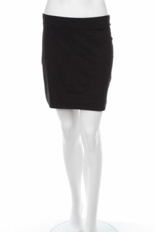 Пола H&M Divided, Размер M, Цвят Черен, 90% памук, 10% еластан, Цена 5,46лв.