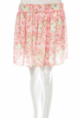 Пола Zara, Размер XS, Цвят Многоцветен, 100% полиестер, Цена 7,00лв.