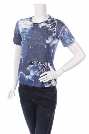 Дамска блуза Amalia, Размер S, Цвят Син, 50% памук, 50% вискоза, Цена 3,00лв.