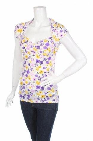 Дамска блуза Andrea, Размер M, Цвят Многоцветен, 65% полиестер, 32% вискоза, 3% еластан, Цена 4,40лв.