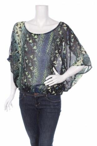 Дамска блуза Derek Heart, Размер L, Цвят Многоцветен, Полиестер, Цена 3,00лв.