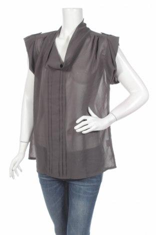 Дамска блуза Dice, Размер L, Цвят Сив, Полиестер, Цена 3,75лв.