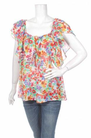 Дамска блуза The Garden By H&M, Размер M, Цвят Многоцветен, 100% полиестер, Цена 6,76лв.
