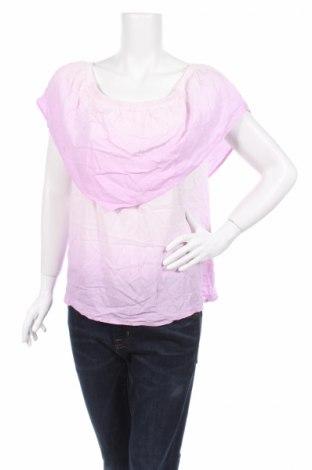 Дамска блуза Ultra Flirt, Размер S, Цвят Розов, 100% вискоза, Цена 4,60лв.