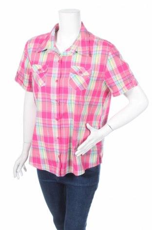 Дамска риза, Размер L, Цвят Многоцветен, 50% полиестер, 30% вискоза, 20% памук, Цена 16,00лв.