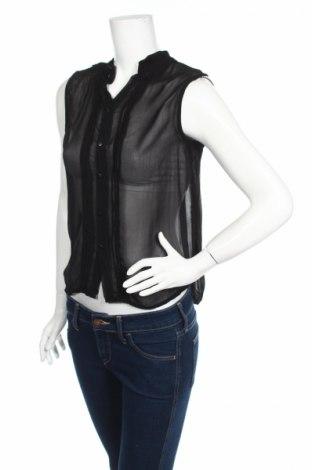 Γυναικείο πουκάμισο, Μέγεθος M, Χρώμα Μαύρο, Τιμή 3,88€