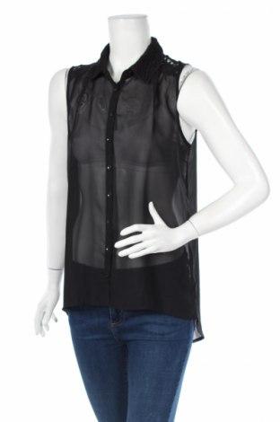Дамска риза, Размер L, Цвят Черен, Цена 5,98лв.