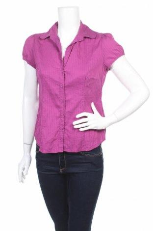 Дамска риза Banana Republic, Размер M, Цвят Розов, 70% памук, 27% полиамид, 3% еластан, Цена 13,50лв.