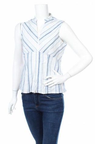 Дамска риза Biaggini, Размер M, Цвят Бял, 84% памук, 14% полиамид, 2% еластан, Цена 4,50лв.