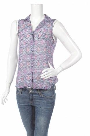 Дамска риза H&M, Размер XS, Цвят Многоцветен, 100% полиестер, Цена 4,00лв.