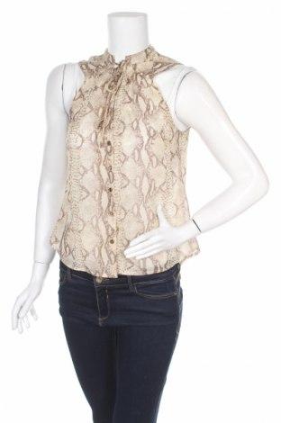 Дамска риза H&M, Размер M, Цвят Бежов, Цена 7,15лв.