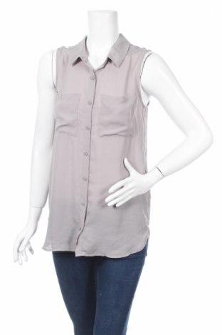 Дамска риза H&M Divided, Размер M, Цвят Сив, Полиестер, Цена 4,75лв.
