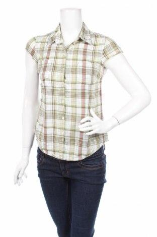 Дамска риза H&M L.o.g.g, Размер XS, Цвят Зелен, 100% памук, Цена 5,46лв.