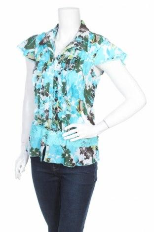 Дамска риза Jessica, Размер M, Цвят Многоцветен, Цена 4,00лв.
