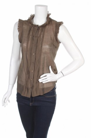 Дамска риза Lapis, Размер S, Цвят Кафяв, 70% вискоза, 30% полиамид, Цена 6,83лв.