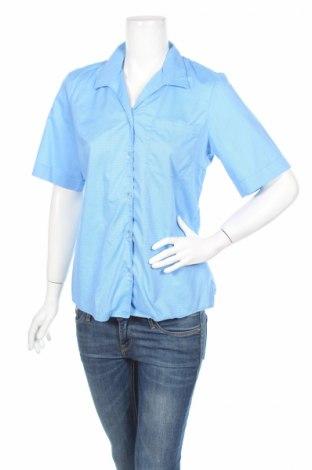 Дамска риза Luca Maldini, Размер M, Цвят Син, 100% памук, Цена 7,15лв.