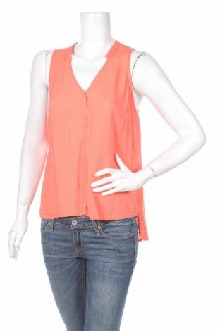 Дамска риза United Colors Of Benetton, Размер L, Цвят Розов, 100% вискоза, Цена 7,15лв.