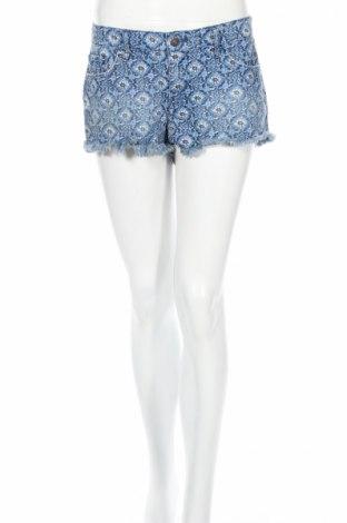 Дамски къс панталон Abercrombie & Fitch, Размер XL, Цвят Син, Памук, Цена 13,30лв.
