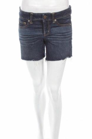 Дамски къс панталон American Eagle, Размер M, Цвят Син, 76% памук, 23% вискоза, 1% еластан, Цена 5,40лв.