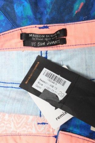Γυναικείο κοντό παντελόνι Maison Scotch, Μέγεθος L, Χρώμα Μπλέ, 97% βαμβάκι, 3% ελαστάνη, Τιμή 79,21€