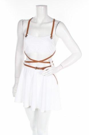 Дамски комплект Michael Kors, Размер M, Цвят Бял, 83% полиамид, 17% еластан, Цена 156,60лв.