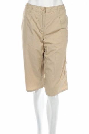 Дамски панталон La Redoute, Размер M, Цвят Бежов, 100% памук, Цена 6,67лв.