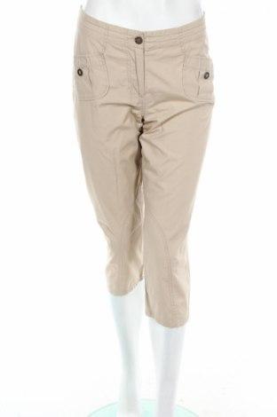 Дамски панталон Project, Размер M, Цвят Бежов, Памук, Цена 6,44лв.