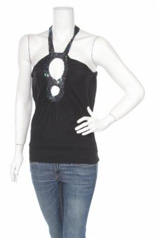 Γυναικείο αμάνικο μπλουζάκι Batik, Μέγεθος M, Χρώμα Μαύρο, 95% βισκόζη, 5% ελαστάνη, Τιμή 2,84€