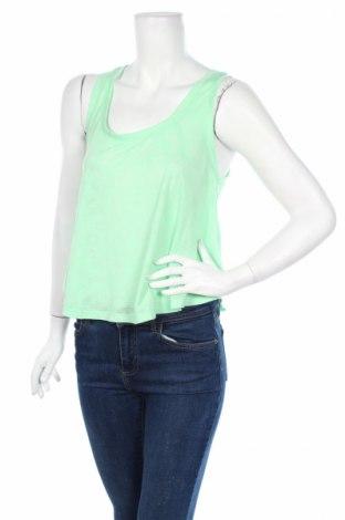 Γυναικείο αμάνικο μπλουζάκι G:21, Μέγεθος M, Χρώμα Πράσινο, 79% πολυεστέρας, 21% βισκόζη, Τιμή 3,16€