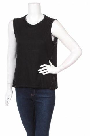Γυναικείο αμάνικο μπλουζάκι H&H, Μέγεθος L, Χρώμα Μαύρο, Βισκόζη, Τιμή 3,69€