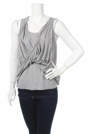 Γυναικείο αμάνικο μπλουζάκι Lipsy London, Μέγεθος S, Χρώμα Γκρί, 97% βισκόζη, 3% ελαστάνη, Τιμή 3,69€