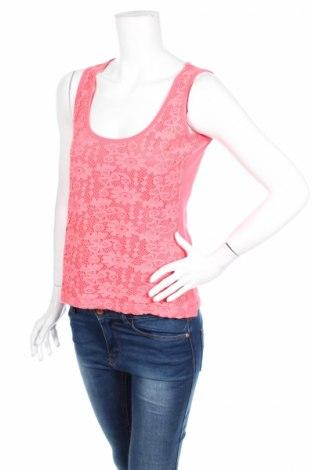 Γυναικείο αμάνικο μπλουζάκι Lola & Liza, Μέγεθος S, Χρώμα Ρόζ , Τιμή 3,53€