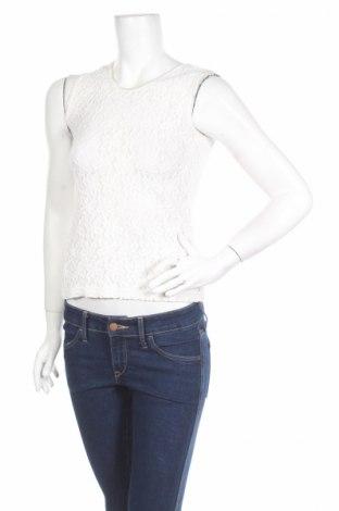 Γυναικείο αμάνικο μπλουζάκι Petite Collection, Μέγεθος S, Χρώμα Εκρού, 65% πολυαμίδη, 35% βαμβάκι, Τιμή 2,95€