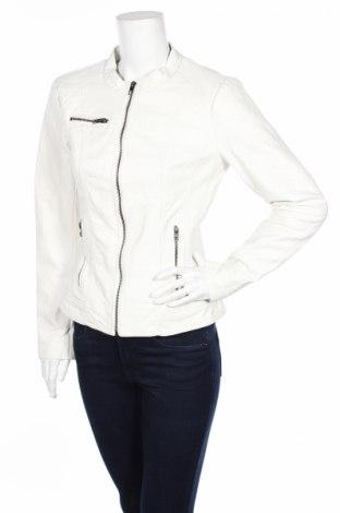 Γυναικείο δερμάτινο μπουφάν Only, Μέγεθος L, Χρώμα Λευκό, Δερματίνη, Τιμή 15,67€