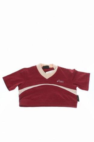 Детска блуза Asics, Размер 7-8y/ 128-134 см, Цвят Червен, Цена 7,15лв.