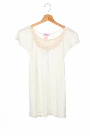 Детска блуза Candie's, Размер 15-18y/ 170-176 см, Цвят Бял, 100% вискоза, Цена 3,75лв.