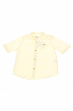 Детска риза Zara, Размер 3-4y/ 104-110 см, Цвят Жълт, 100% памук, Цена 12,29лв.