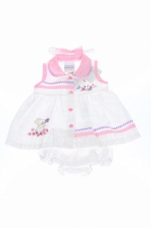 Детски комплект Nursery Time, Размер 3-6m/ 62-68 см, Цвят Бял, 65% полиестер, 35% памук, Цена 12,80лв.
