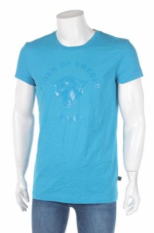 Pánské tričko  Tiger Of Sweden, Rozměr L, Barva Modrá, Cena  164,00Kč