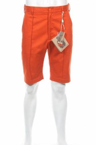Pantaloni scurți de bărbați Woolrich, Mărime M, Culoare Oranj, Bumbac, Preț 108,15 Lei