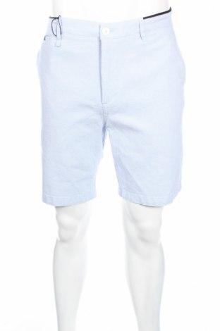 Ανδρικό κοντό παντελόνι Zara, Μέγεθος L, Χρώμα Μπλέ, 98% βαμβάκι, 2% ελαστάνη, Τιμή 12,99€