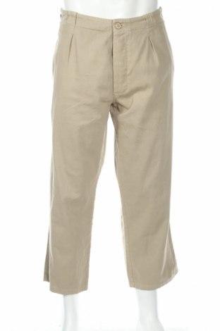 Мъжки панталон Gerard, Размер L, Цвят Бежов, 100% памук, Цена 28,20лв.