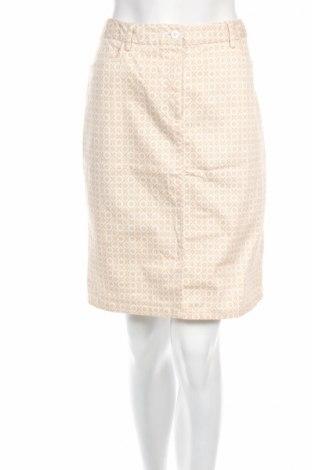 Φούστα Alba Moda, Μέγεθος M, Χρώμα  Μπέζ, 98% βαμβάκι, 2% ελαστάνη, Τιμή 5,53€