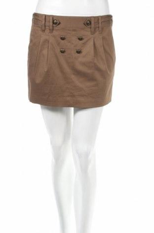 Φούστα Bcbg Max Azria, Μέγεθος S, Χρώμα  Μπέζ, 97% βαμβάκι, 3% ελαστάνη, Τιμή 33,61€