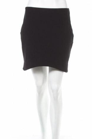Φούστα H&M, Μέγεθος M, Χρώμα Μαύρο, 86% πολυεστέρας, 14% ελαστάνη, Τιμή 5,31€