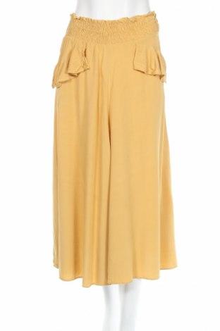 Sukňa Maje, Veľkosť M, Farba Žltá, 100% viskóza, Cena  34,31€